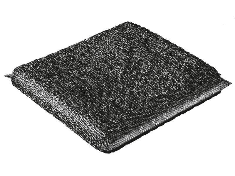 Vileda Glitzi Power Inox éponge métallique 2x11 cm 2 pièces