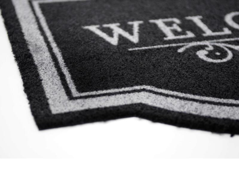 Globos voetmat 45x65 cm grijs