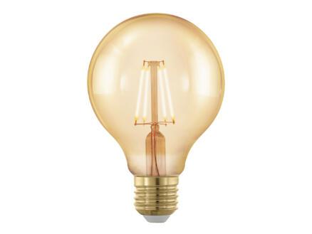 Eglo Gold Age Globe 80 Step Dimming ampoule LED globe filament E27 4W blanc chaud