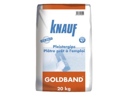 Knauf Goldband pleister 20kg