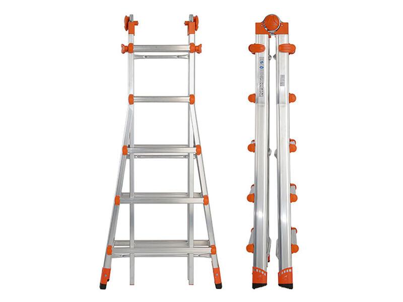 Escalo Goliath telescopische ladder 4x5 sporten