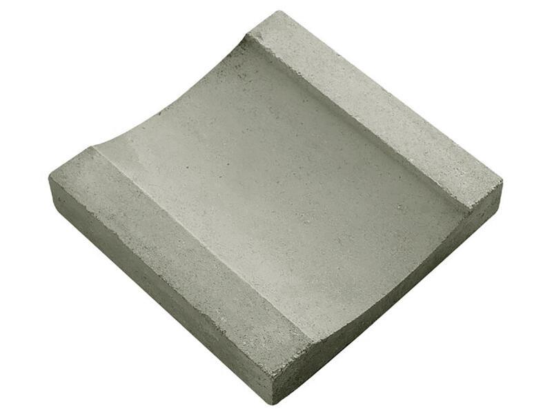Gootdal 30x30x6 cm 0,09m² beton grijs