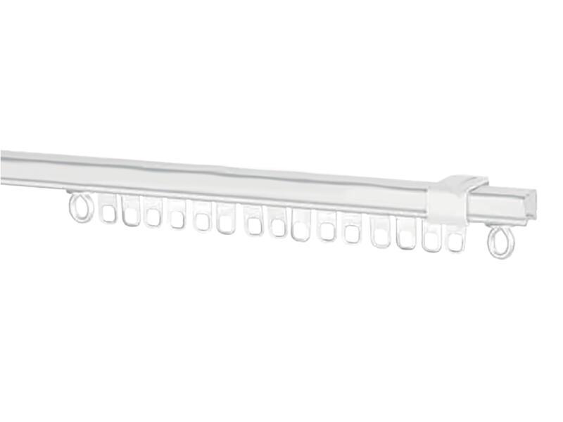 Gordijnrail AVR55 250cm staal