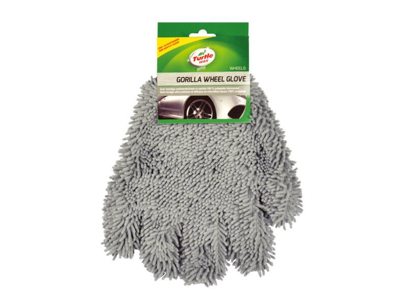 Turtle Wax Gorilla gant de lavage jantes micro-chenille gris