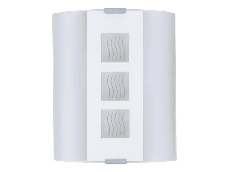 Eglo Grafik wand- en plafondlamp deco E27 max. 60W wit