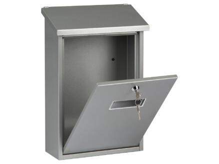 Starcko Granada boîte aux lettres acier laqué gris