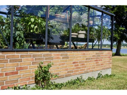 Juliana Grand Oase 188 Wall serre verre de sécurité gris