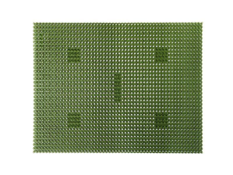 Grasmat 40x60 cm groen