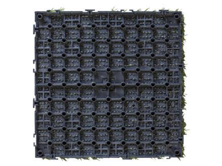 Grastegel 30x30 cm 1m² click-on groen 11 stuks