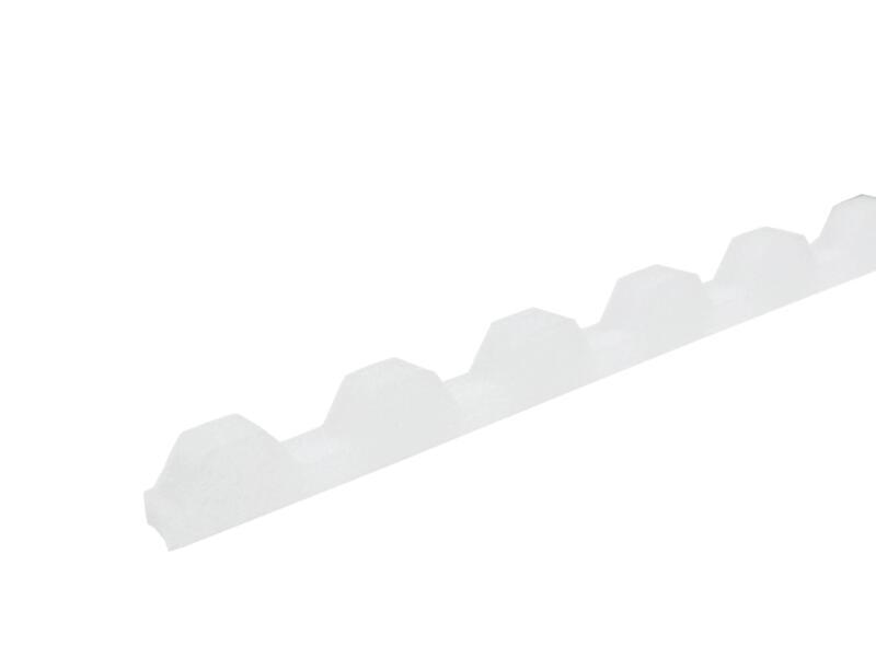 Scala Greca bande d'isolation 100cm blanc 10 pièces