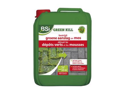 Bsi Green Kill liquide anti-dépôts verts & lichens 5l