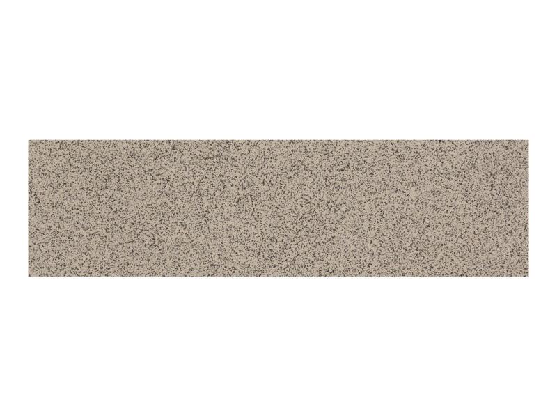 Gres plinthe 7,2x30 cm gris 3mct/emballage