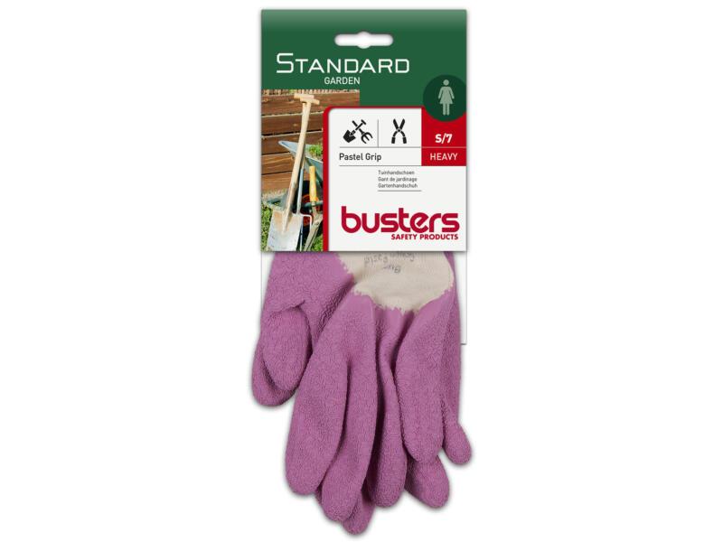Busters Grippo Pastel gants de jardinage S coton rose