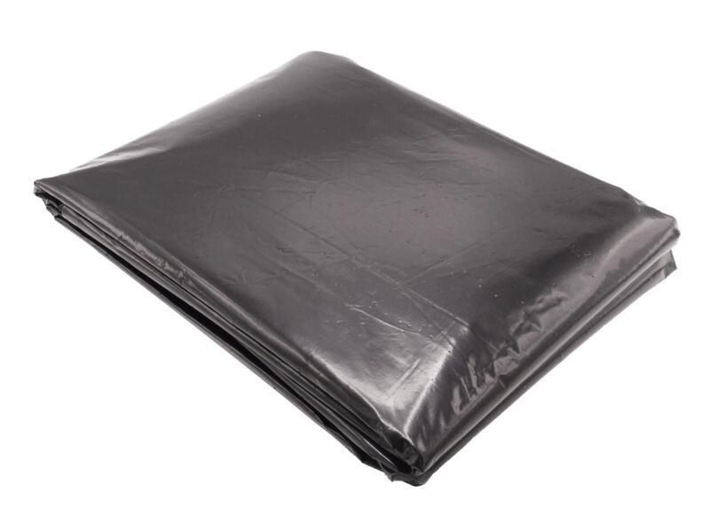 Gronddoek 10x1,4 m zwart