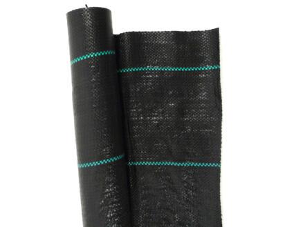 Gronddoek 25x1 m 100g/m² zwart