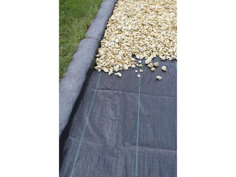 Gronddoek 3,3x5 m zwart
