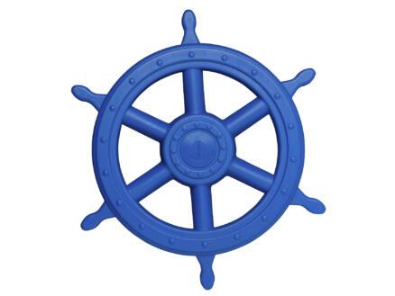 Groot piratenstuur blauw