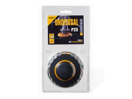 Universal HDO 002 P25 bobijn dubbele trimmerdraad 2mm 4m