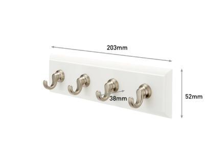 3M HOM18-Q sleutelrek 20cm wit