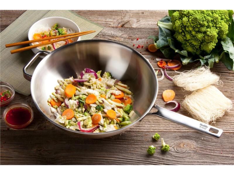 Healthy & Tasty HT1006 wok 30cm
