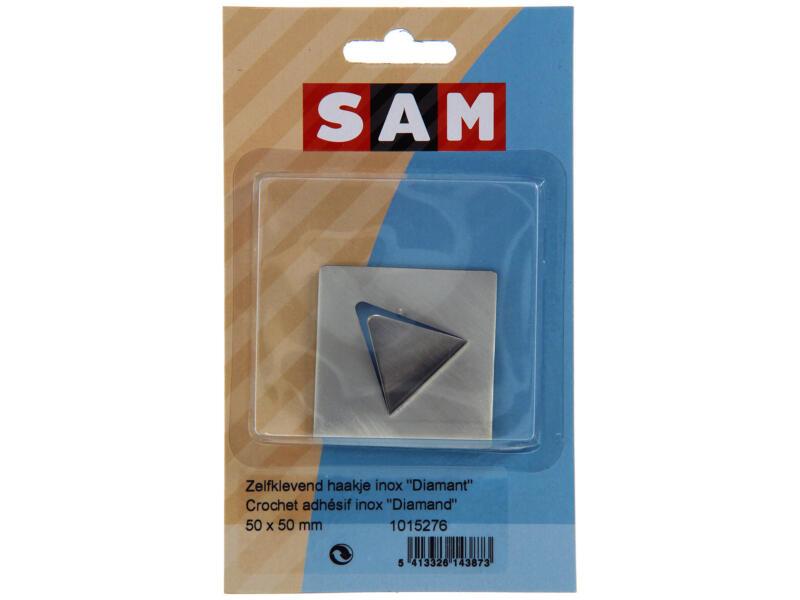 Sam Haak zelfklevend diamant inox