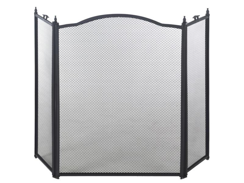 Practo Home Haardscherm classic zwart 96x62 cm
