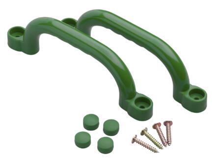 Handgreepset groen 2 stuks