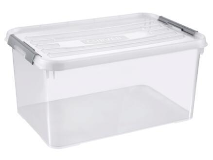 Curver Handy+ boîte de rangement 50l transparent