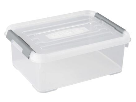 Curver Handy+ opbergbox 12l transparant