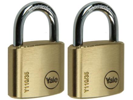 Yale Hangslot 35mm 2 stuks