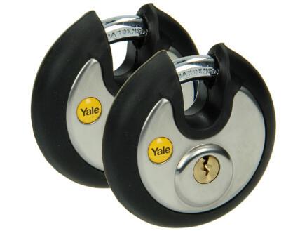 Yale Hangslot discus 70mm 2 stuks