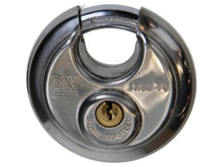 Hangslot discus 70mm