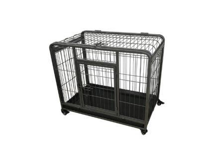 Heavy Duty bench XL 108x71x78 cm zwart