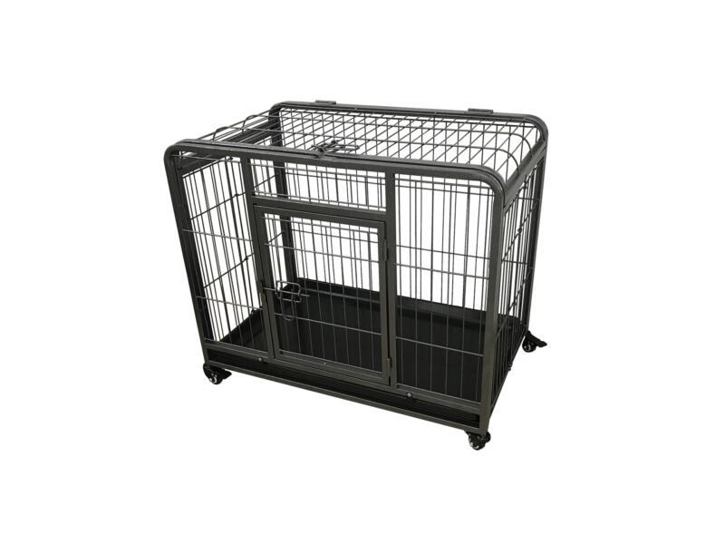 Heavy Duty bench XXL 123x75x81 cm zwart
