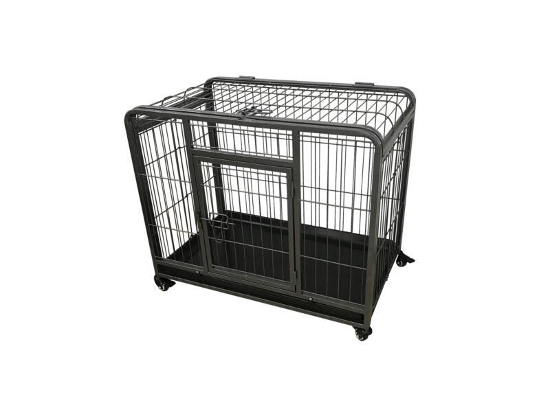 Heavy Duty cage pour chien L 93x61x69 cm noir