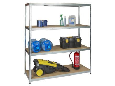 Practo Home Heavy Duty étagère 180x160x60 cm métal