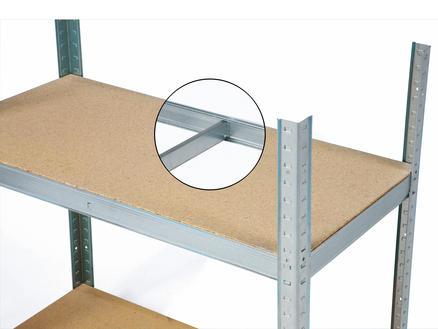 Practo Home Heavy Duty étagère 180x90x45 cm métal