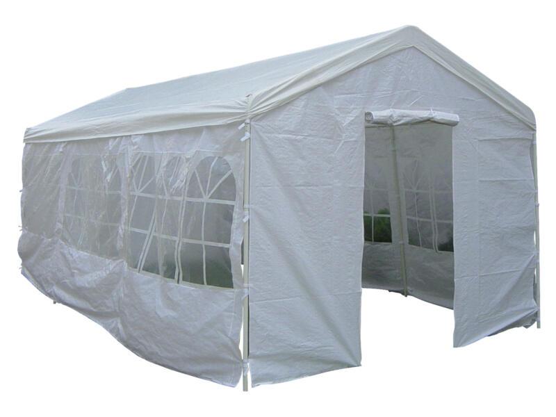 Garden Plus Heavy partytent 600x300 cm + zijwanden wit
