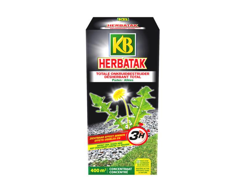 Kb Herbatak désherbant & antimousse allées 900ml
