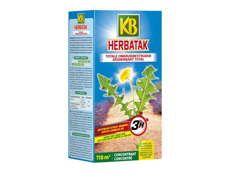 Kb Herbatak totale onkruidverdelger concentraat 250ml