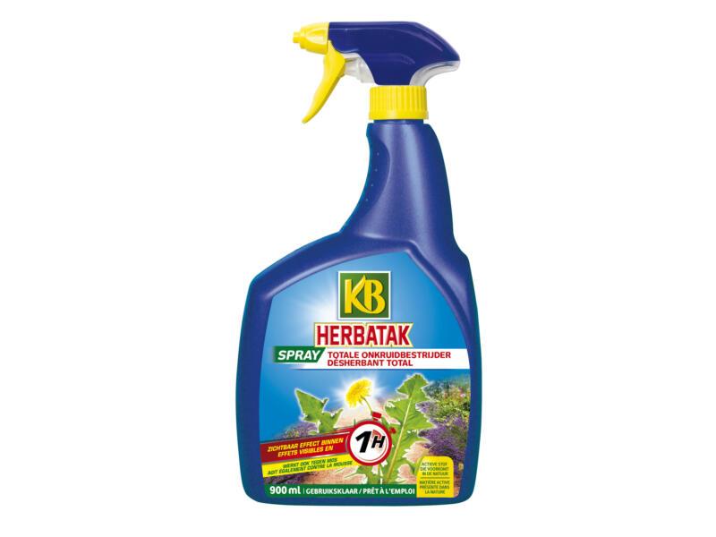 Kb Herbatak totale onkruidverdelger spray 900ml