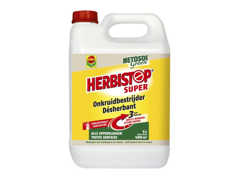 Compo Herbistop Super onkruidverdelger alle oppervlakken 5l