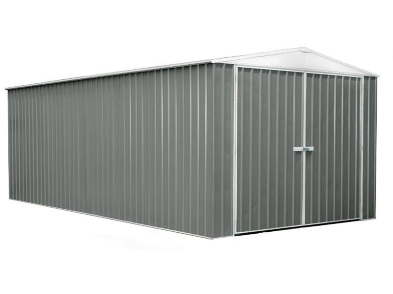 Hervey garage 300x596x230 cm métal gris