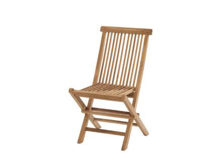 Garden Plus Hidalgo chaise de jardin brun