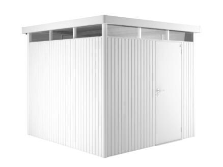 Biohort HighLine H5 abri de jardin 275x315x222 cm métal blanc