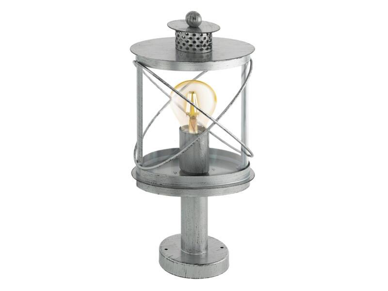 Eglo Hilburn 1 lampe de table E27 max. 60W argent antique