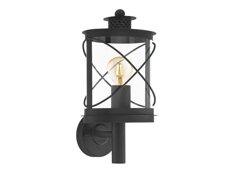 Eglo Hilburn wandlamp E27 max. 60W zwart
