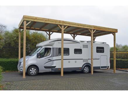 Hobby carport mobilhome 300x800 cm hout