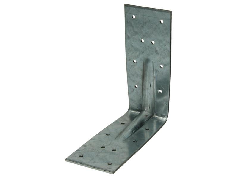 Pgb-fasteners Hoekanker met ril 125x125x55x2,5 mm