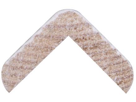 Hoeklat 20x20 mm 240cm grenen gegrond